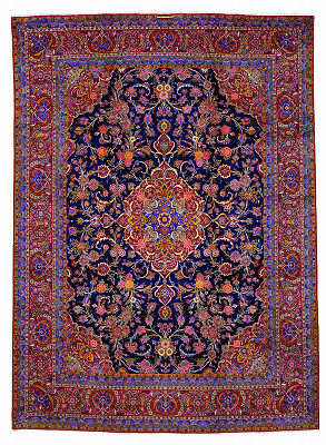 Persian Kashan Rectangle 10x14