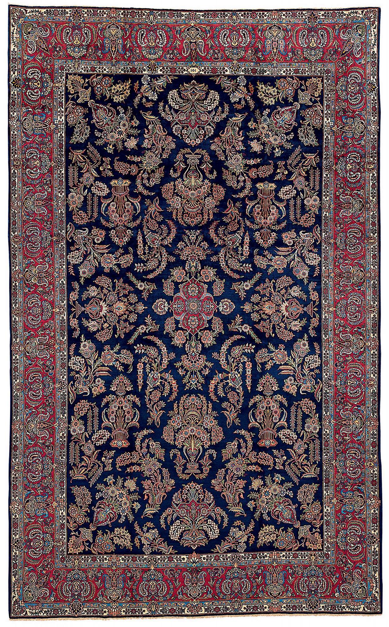 Persian Kashan Rectangle 10x16