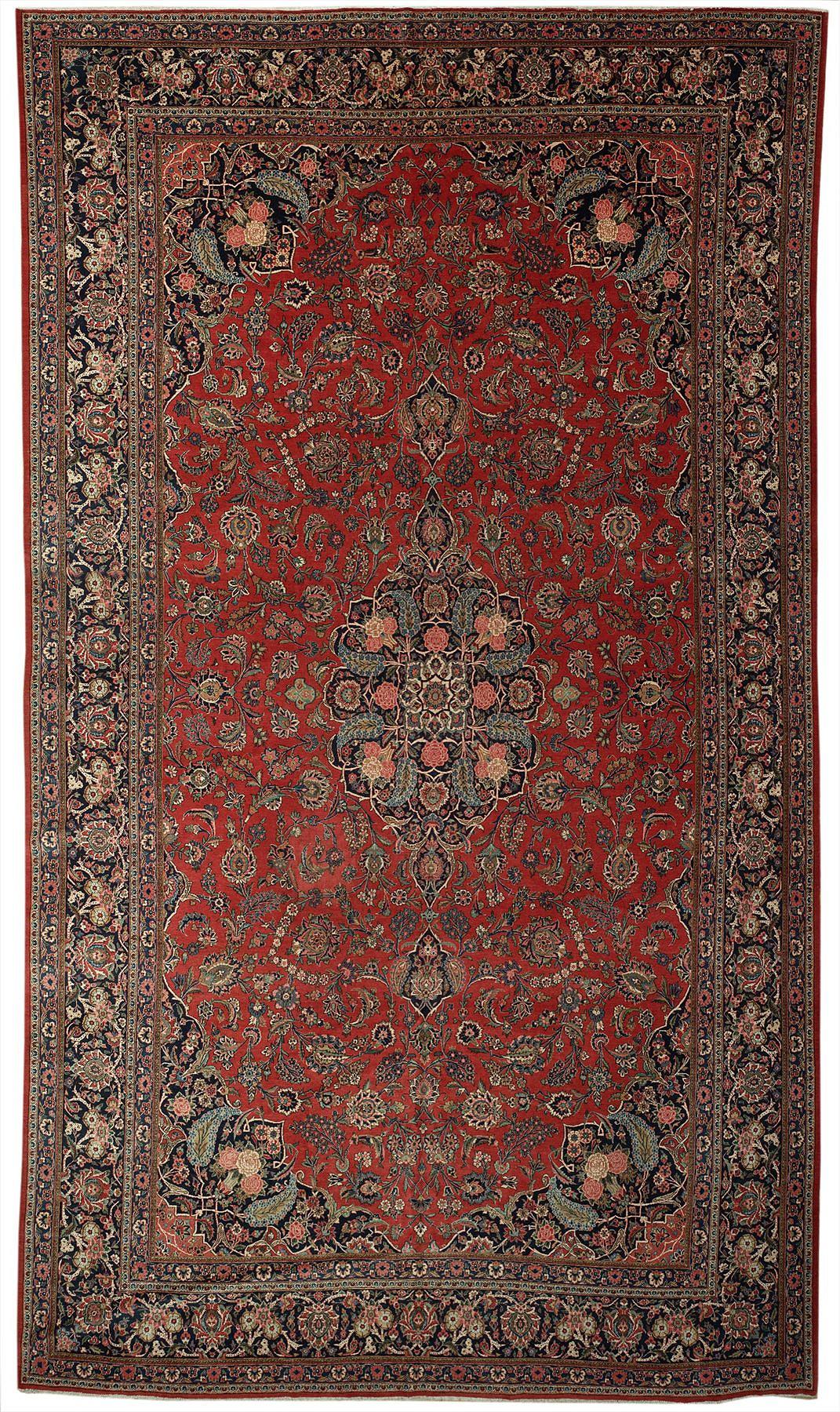 Persian Kashan Rectangle 10x18