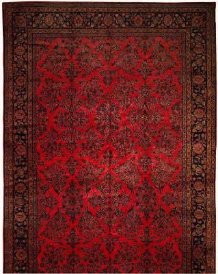 Persian Kashan Rectangle 10x20