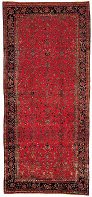 Persian Kashan Rectangle 10x23