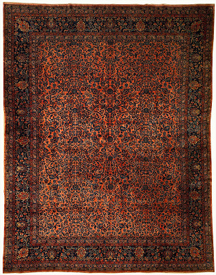 Persian Kashan Rectangle 11x14