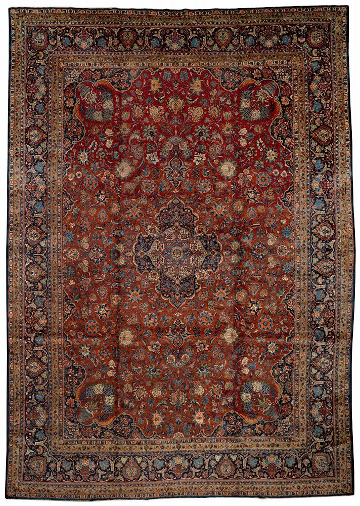 Persian Kashan 12x17