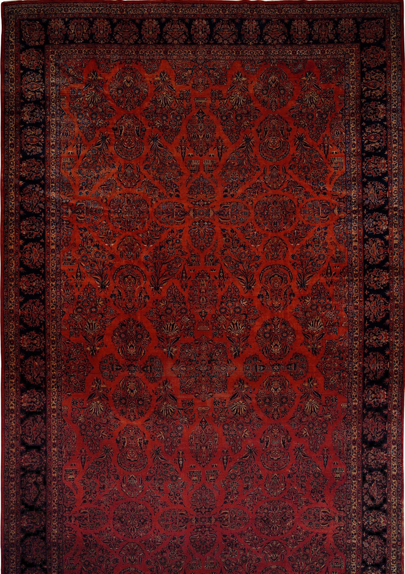 Persian Kashan 13x24