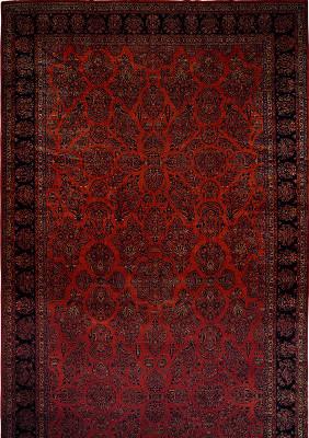 Persian Kashan Rectangle 13x24