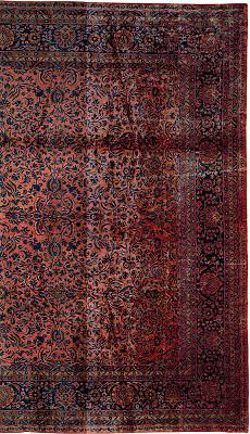 Persian Kashan Rectangle 15x27