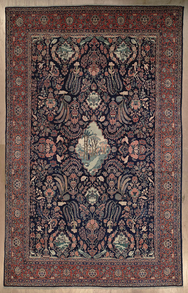 Persian Kashan 8x13