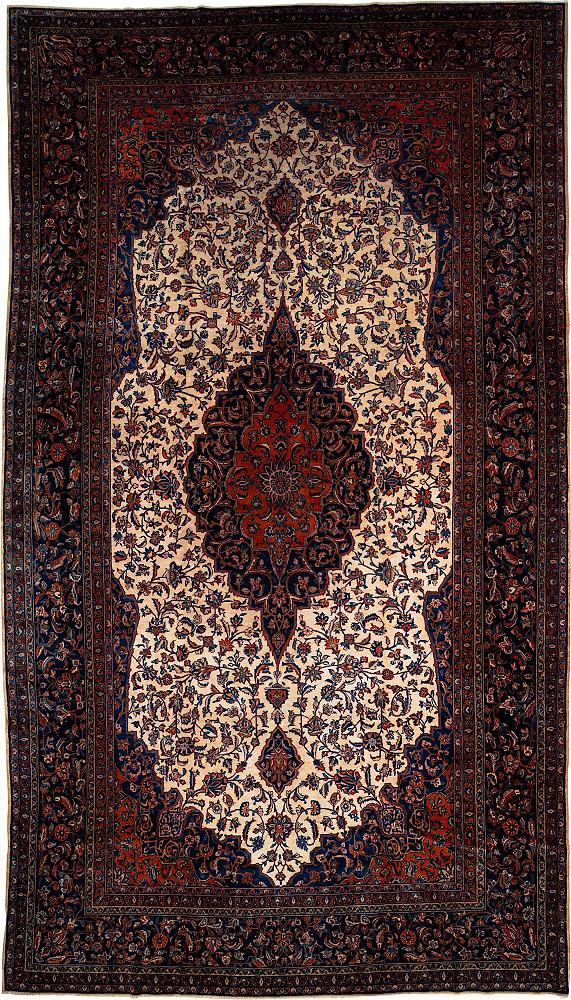 Persian Kashan 8x15