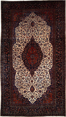 Persian Kashan Rectangle 8x15