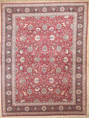 Persian Kashan 9x12