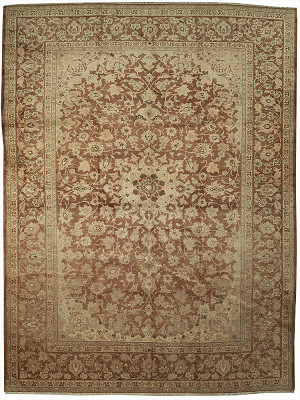 Persian Kashan Rectangle 9x12