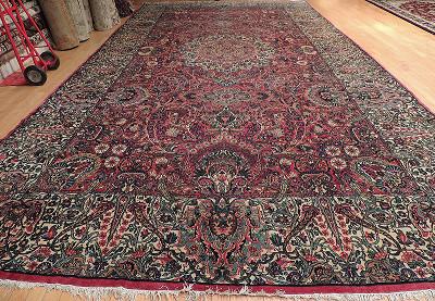 Persian Kerman Rectangle 10x19