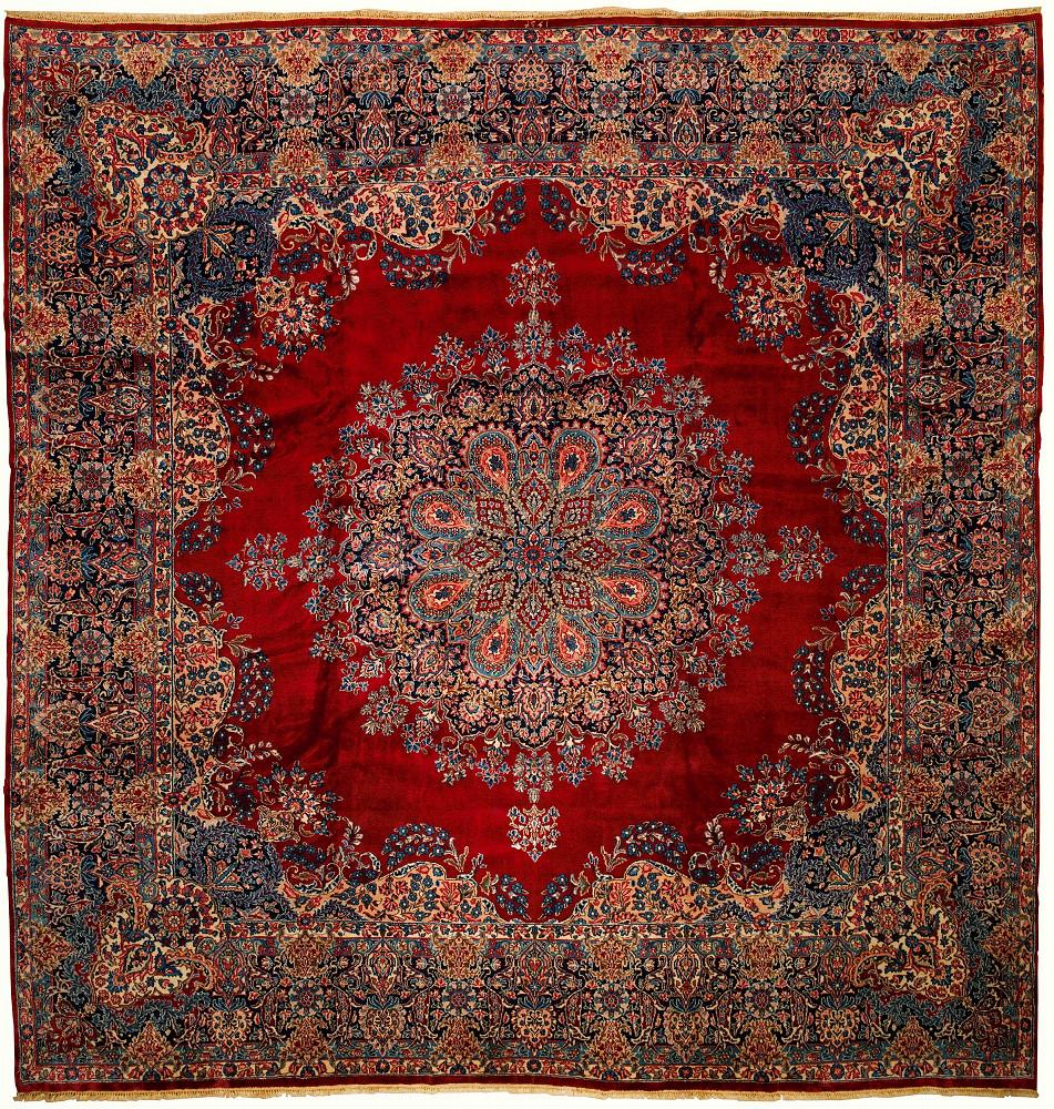 Persian Kerman Square 11x11