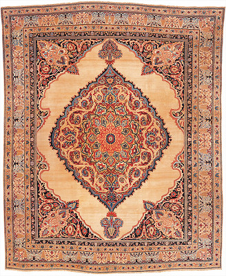 Persian Kermanshah Rectangle 12x15