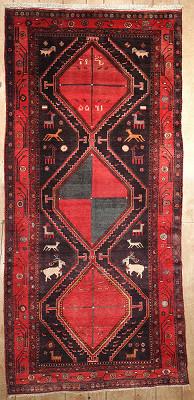 Persian Kurdish Rectangle 5x10