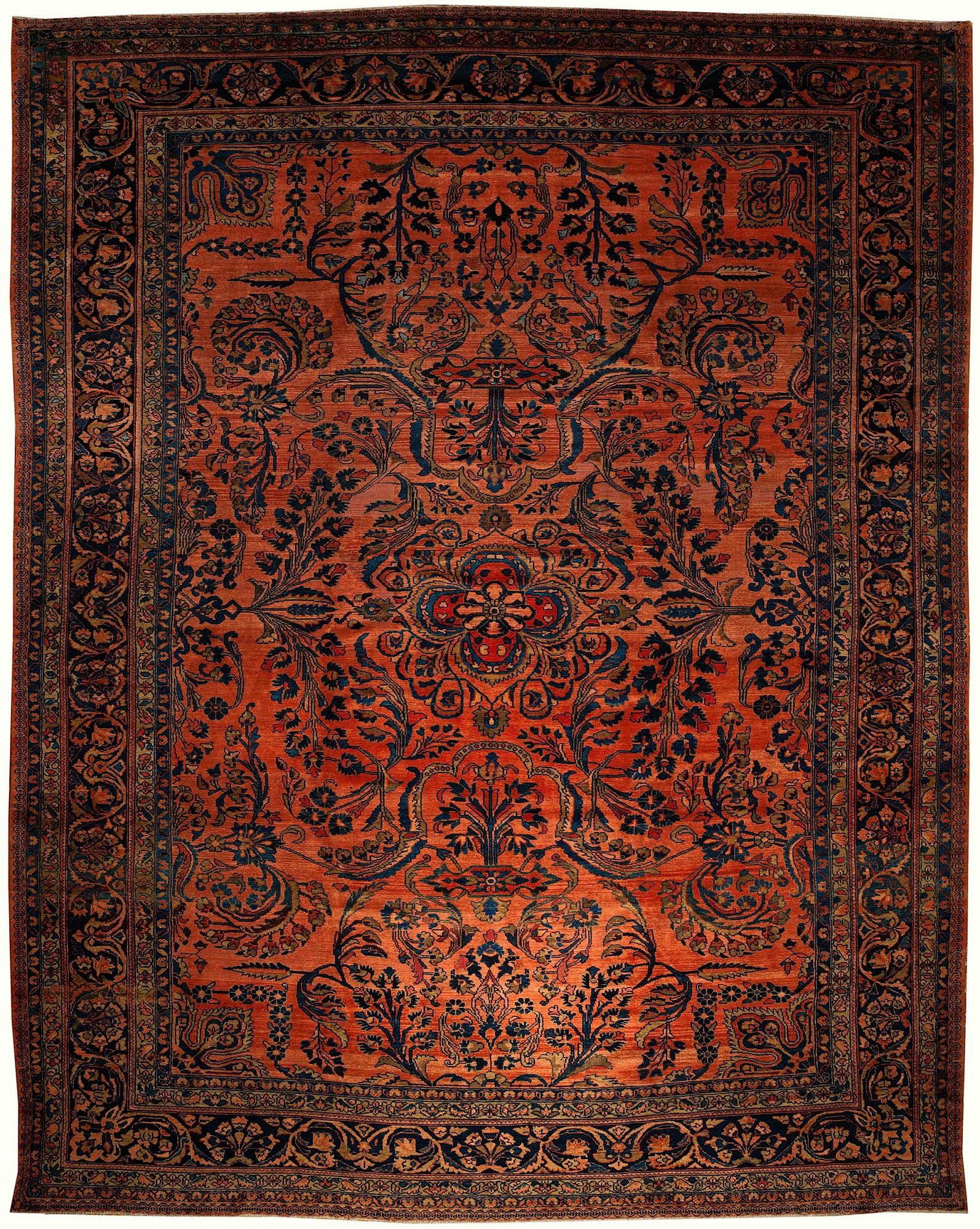 Persian Lilian Rectangle 10x13