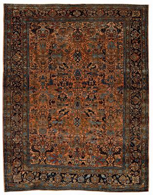 Persian Lilian Rectangle 8x11