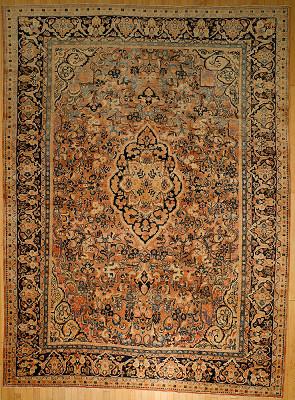 Persian Mahal Rectangle 10x13