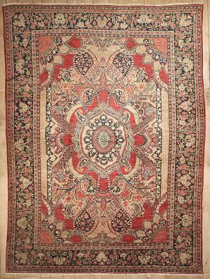Persian Mahal Rectangle 10x14