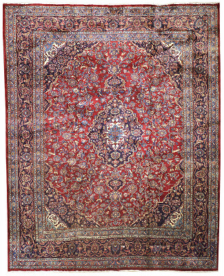Persian Mashad Rectangle 10x12