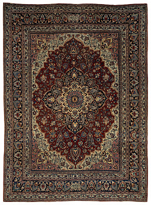 Persian Mashad Rectangle 10x14