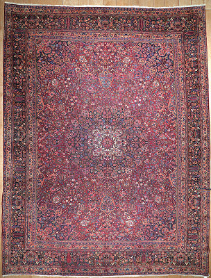 Persian Mashad Rectangle 10x14