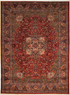 Persian Mashad Rectangle 11x15