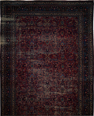 Persian Mashad Rectangle 13x24