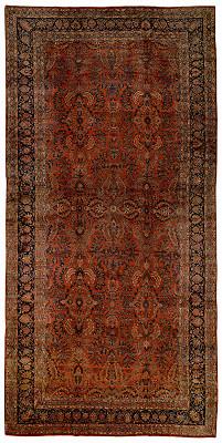 Persian Mohajeran Rectangle 11x23