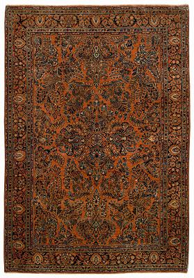 Persian Mohajeran Rectangle 6x8
