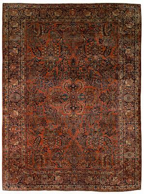 Persian Mohajeran Rectangle 8x11