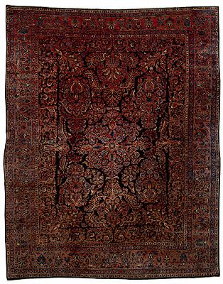 Persian Mohajeran Rectangle 9x12
