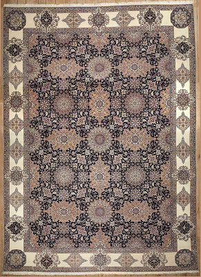 Persian Nain Rectangle 12x17