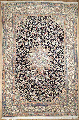 Persian Nain Rectangle 9x14