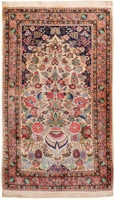 Persian Qum Rectangle 2x4