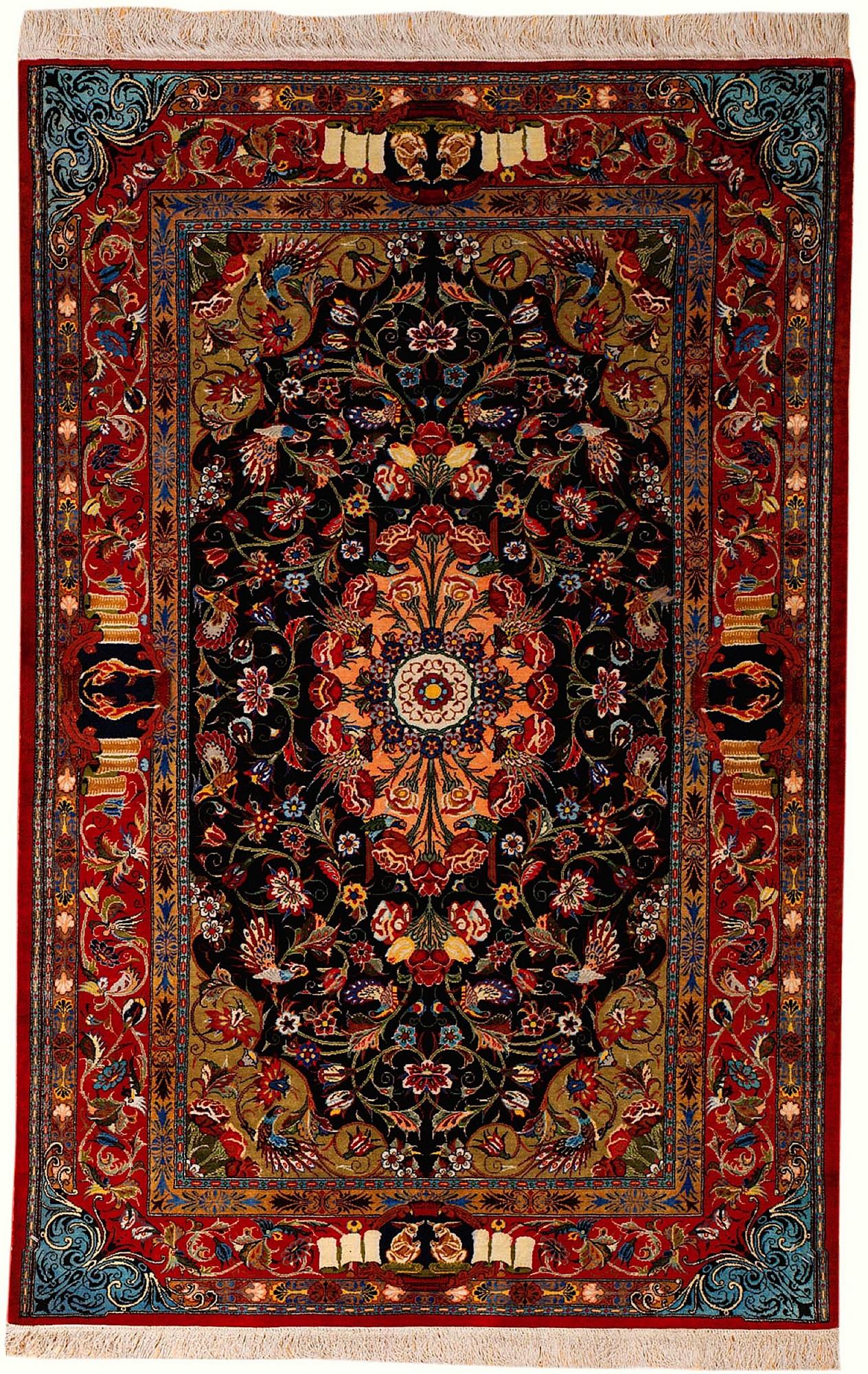 Persian Qum Rectangle 3x4