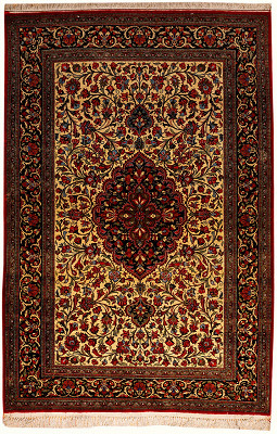 Persian Qum Rectangle 3x5