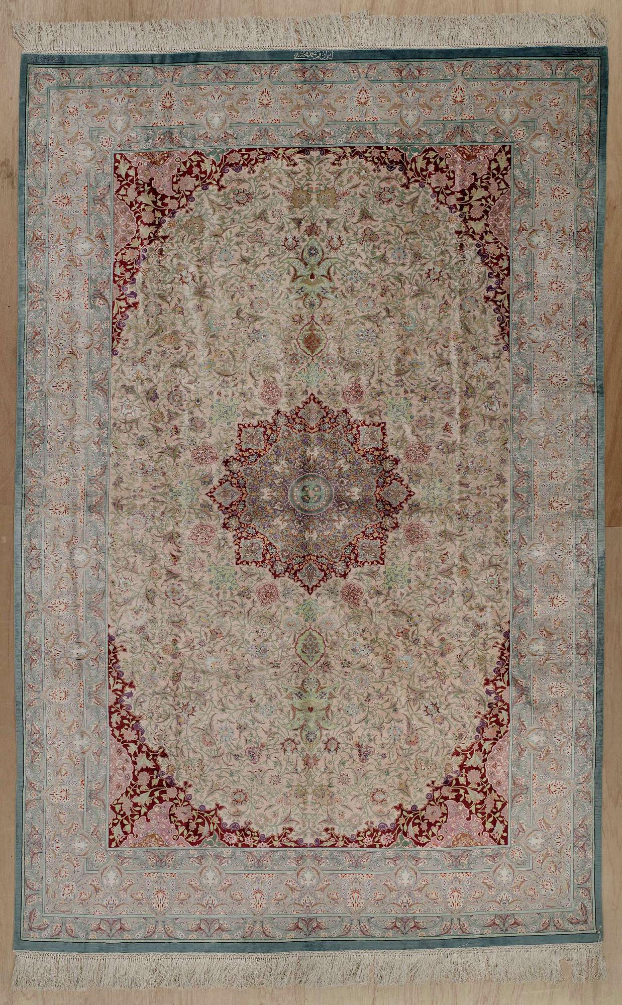 Persian Qum Rectangle 6x10