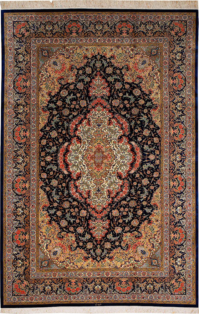 Persian Qum 6x9
