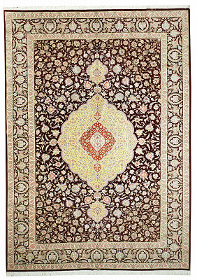 Persian Qum Rectangle 8x11