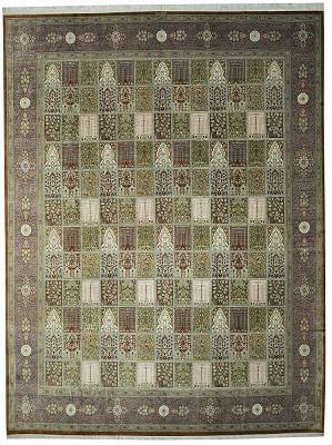 Persian Qum Rectangle 9x12