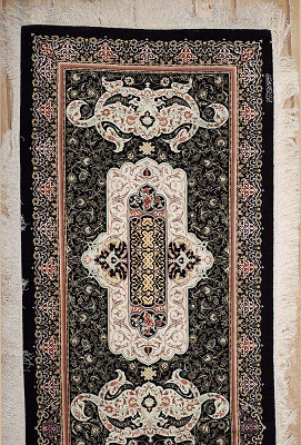 Persian Qum Runner 3x22