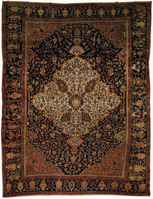 Persian Sarouk Fara Rectangle 10x12