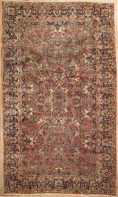 Persian Sarouk Rectangle 10x17