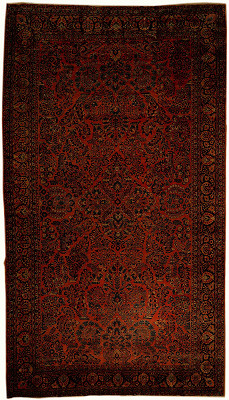 Persian Sarouk Rectangle 10x18