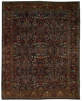 Persian Sarouk Rectangle 11x13