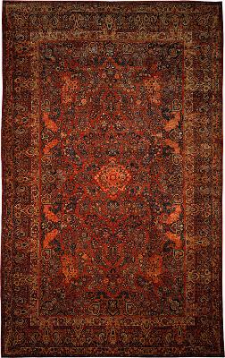 Persian Sarouk Rectangle 12x19