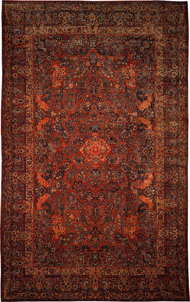 Persian Sarouk 12x19