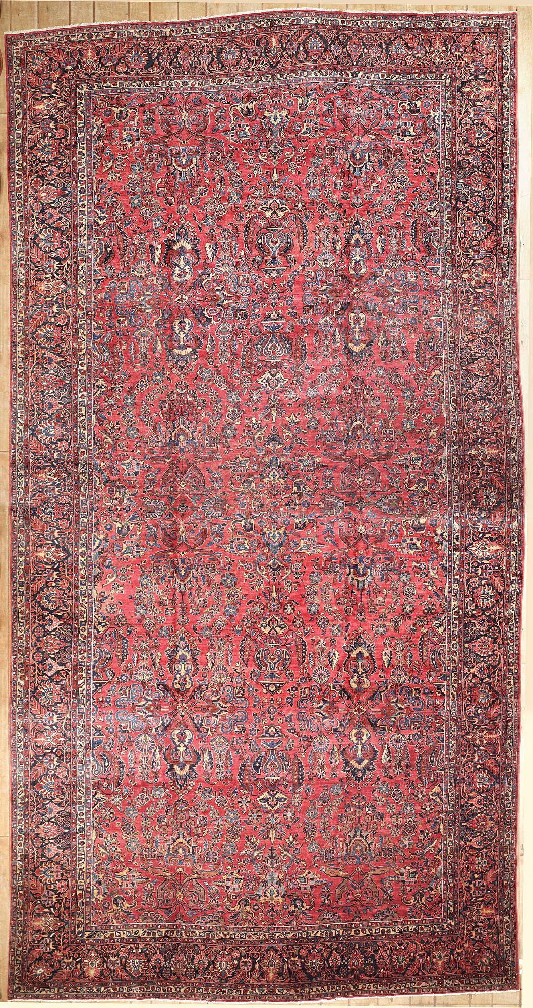 Persian Sarouk Rectangle 12x23