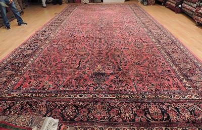 Persian Sarouk Rectangle 12x24
